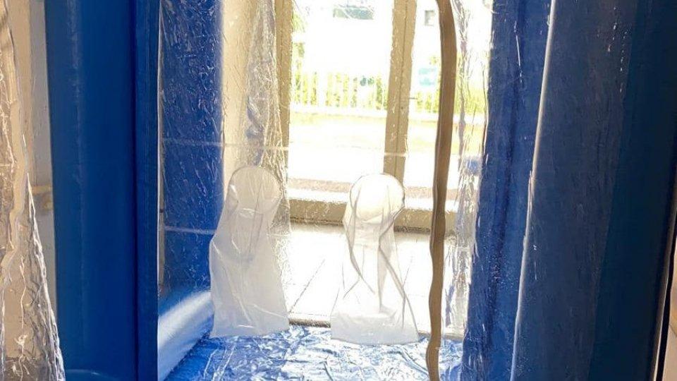 Casale La Fiorina ha la sua 'stanza degli abbracci'
