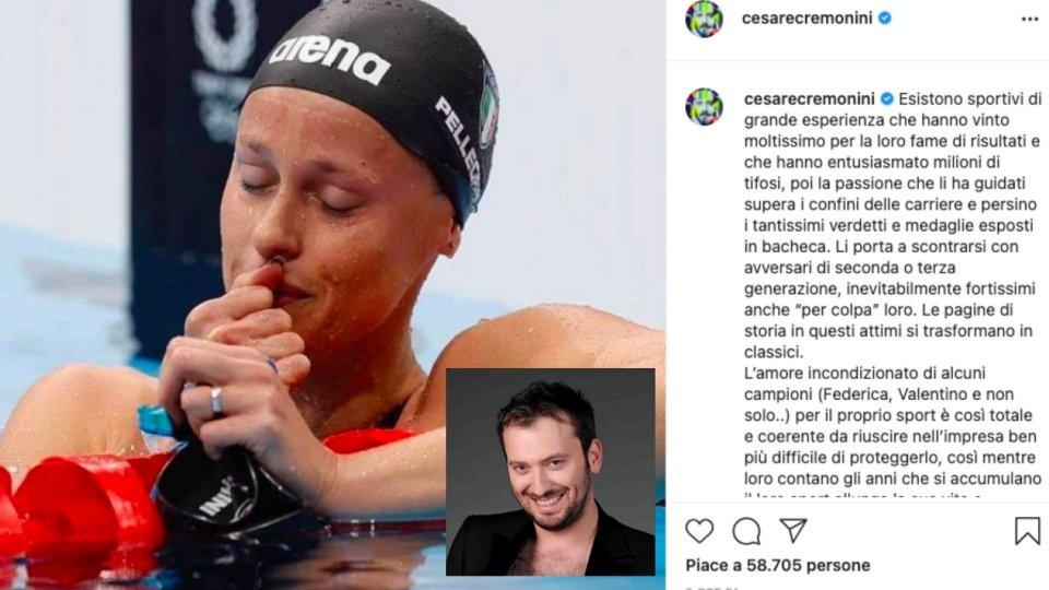 """""""Grazie Fede"""" firmato Cesare Cremonini"""
