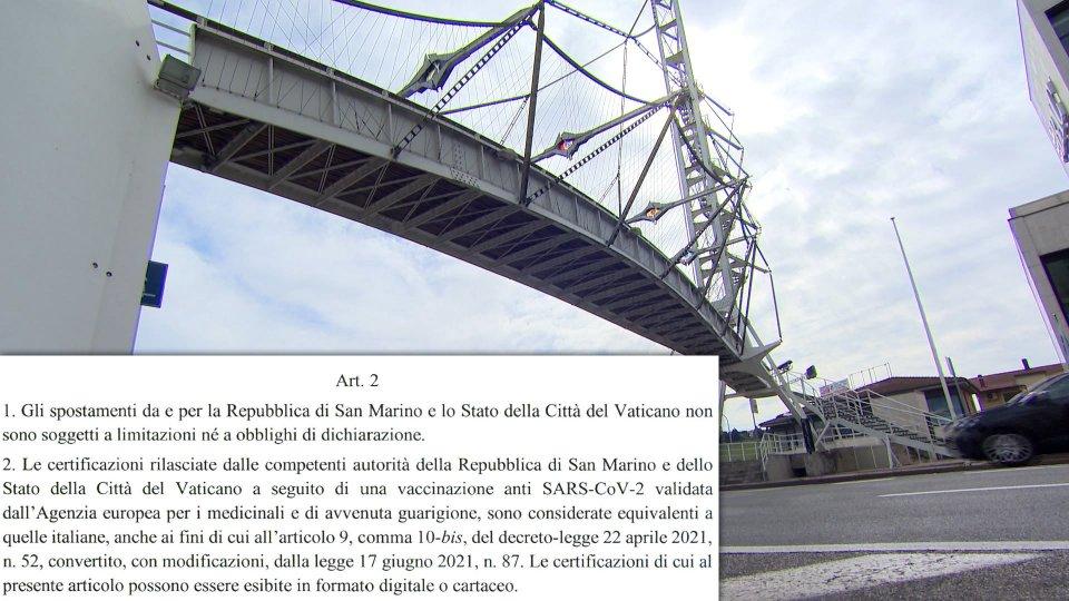 Green Pass: ordinanza del Ministero della Salute scioglie il nodo per i vaccinati Pfizer a San Marino
