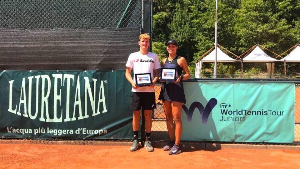 San Marino Junior Open, trionfano Ferri e Milic