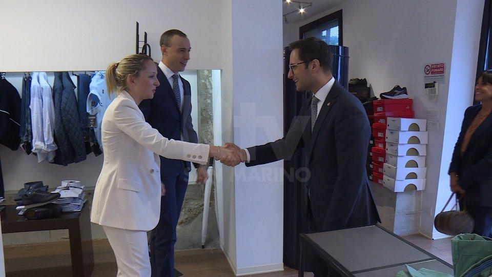 Continuano le visite alle imprese del segretario Righi, ieri a Serravalle