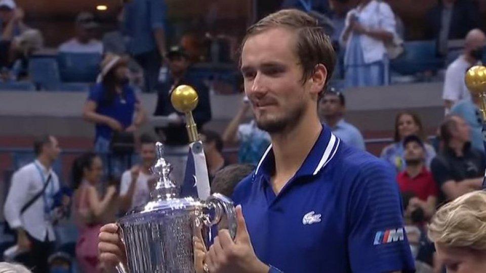 Us Open, vince Medvedev. Sfuma il Grande Slam per Djokovic
