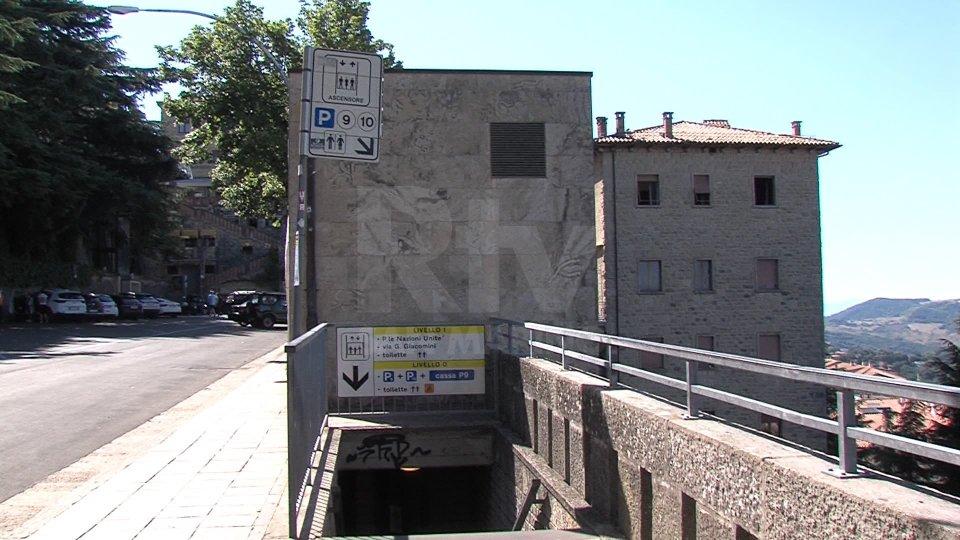 L'ascensore a Piazzale Marino Calcigni