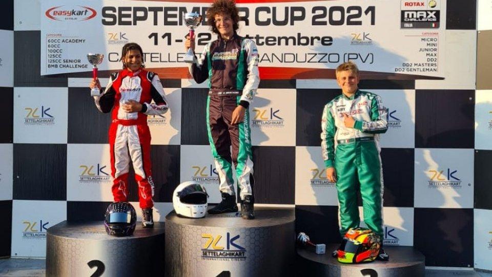 Kart: Giacomo Marchioro vince a Castelletto di Branduzzo e sogna il Bahrein