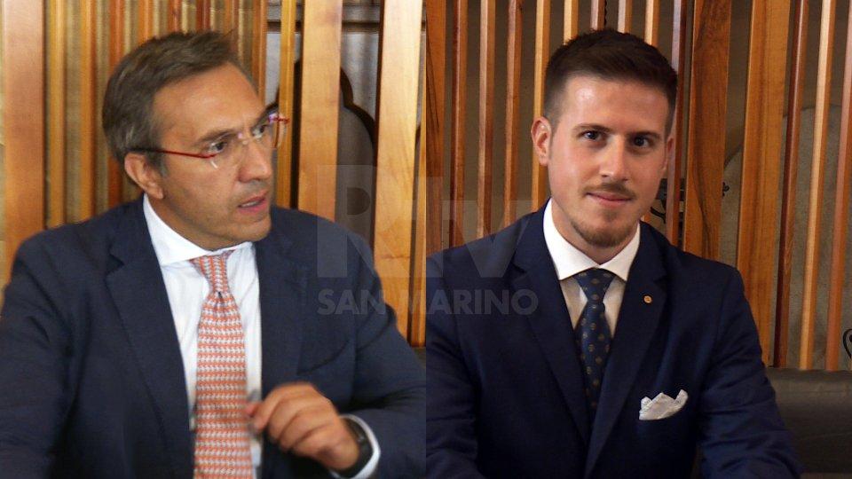 Francesco Mussoni e Giacomo Simoncini
