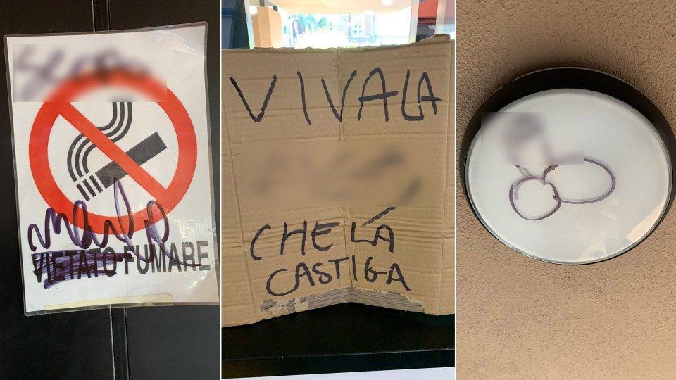 """Serravalle: parchi e scuole imbrattati; il capitano Ercolani: """"Questi gesti rappresentano richieste d'aiuto"""""""