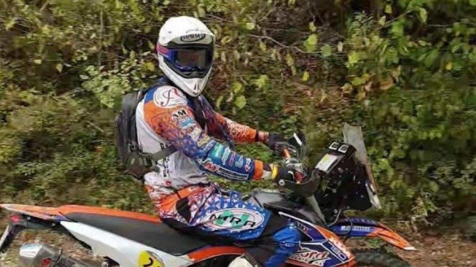 Marco Job si è laureato campione italiano di Moto rally