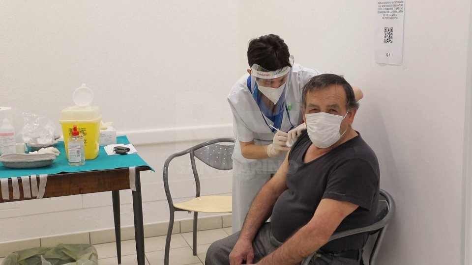 Una vaccinazione a San Marino