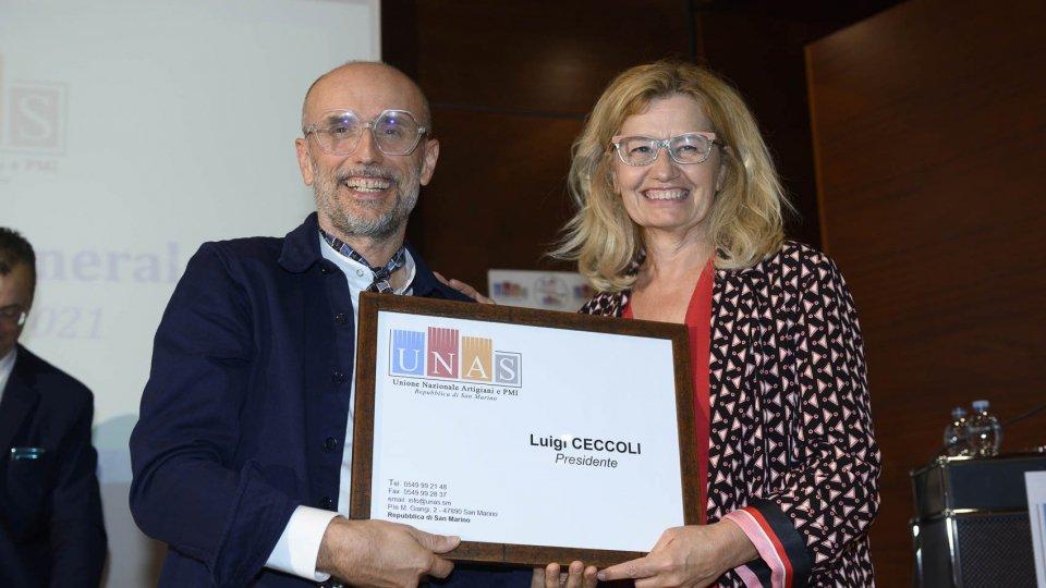 Unas, Luigi Ceccoli è il nuovo Presidente