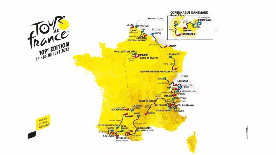 Presentato il Tour de France 2022