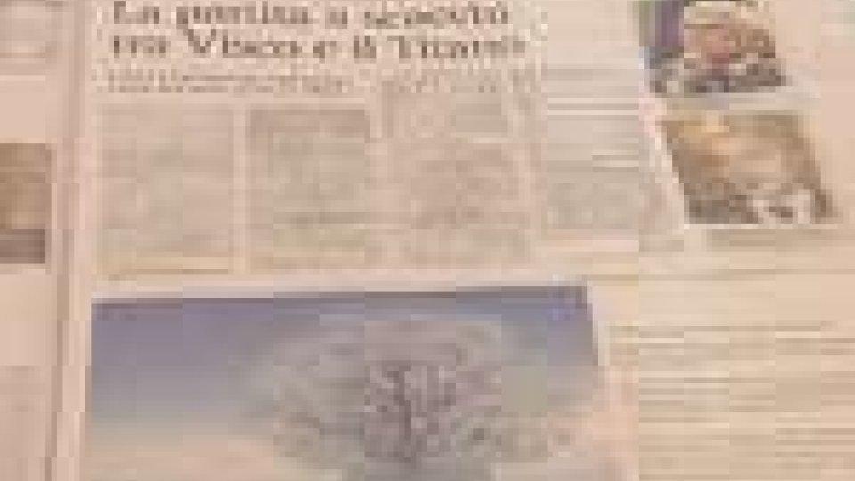 Le pagine del quotidiano economico