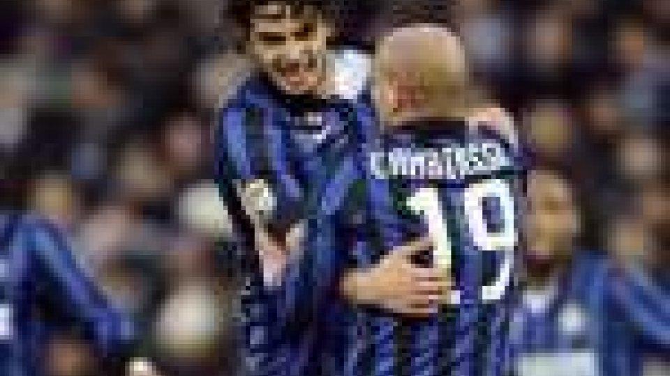 Il Cesena gioca, l'Inter vince 1-0