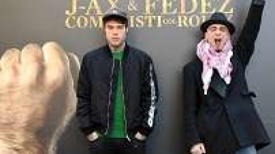 Doppio platino per coppia Fedez-J-Ax