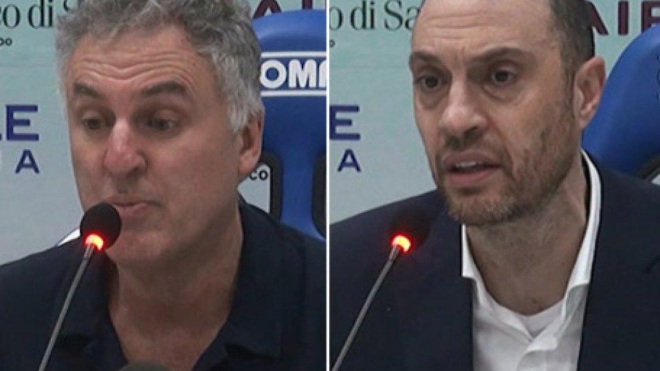 """I coach Massimo Galli e Vincenzo EspositoSassari-VL, Galli: """"Ko arrivato in un modo inaccettabile, in difesa bisogna cambiare"""""""