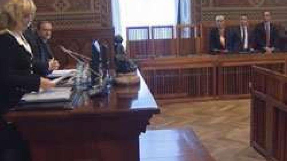 il Consiglio Giudiziario plenario, presieduto dalla ReggenzaRiunito il Consiglio Giudiziario plenario, presieduto dalla Reggenza