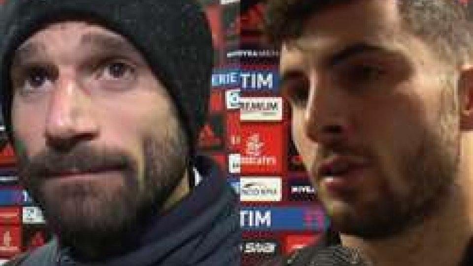 """Antonio Candreva e Patrick CutroneCoppa Italia: Antonio Candreva, """"se segnava Joao Mario il derby lo avremmo vinto noi"""""""