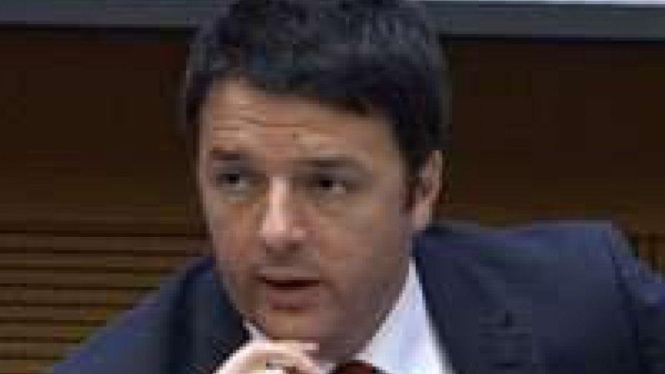 """Conferenza di fine anno, Renzi: """"Il nostro obiettivo è la Germania""""Conferenza di fine anno, Renzi: """"Il nostro obiettivo è la Germania"""""""