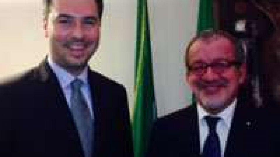 Roma: il Segretario Lonfernini ha incontrato il Presidente Roberto Maroni