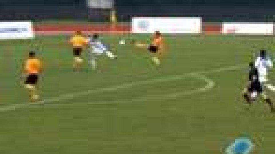 Serie D, Santarcangelo-Recanatese 2-0Serie D, Santarcangelo-Recanatese 2-0