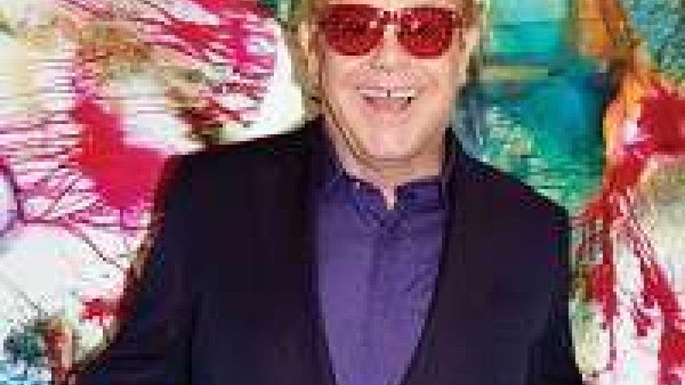 Elton John torna in Italia