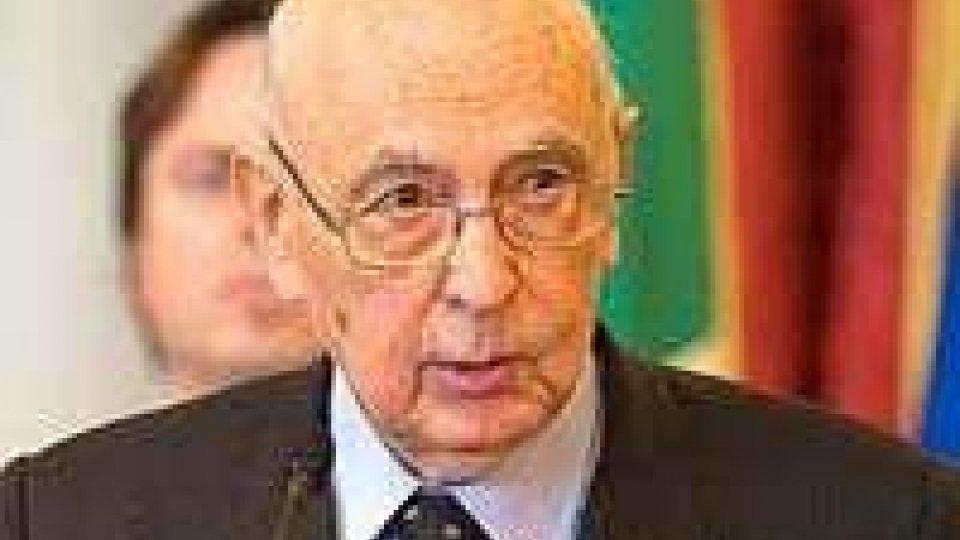 Governo a rischio crisi, Alfano da Napolitano