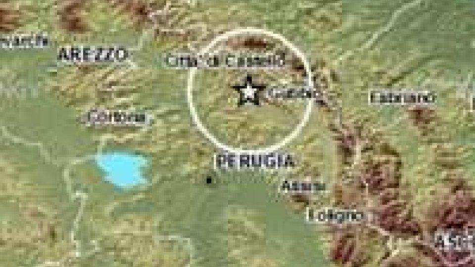 Terremoto, otto scosse da ieri sera alle 20 nel bacino di Gubbio