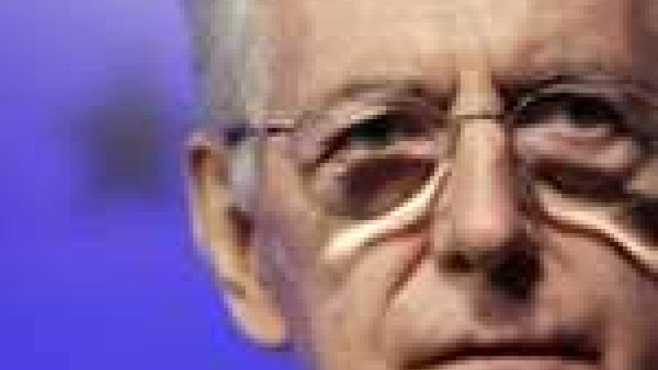 Manovra economica: vertice tra Monti e i presidenti di Camera e Senato