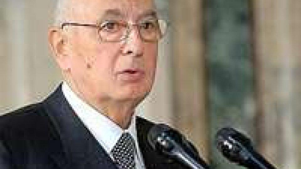 Stasera discorso di fine anno Napolitano, tra attese e polemiche