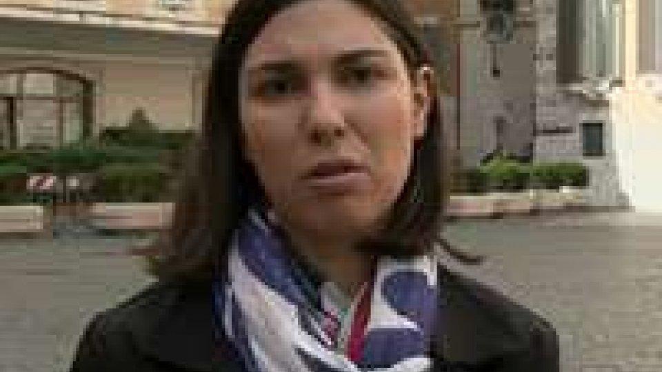 """Giulia Sarti (M5S): """"San Marino non compare mai in commissione antimafia""""Giulia Sarti (M5S): """"San Marino non compare mai in commissione antimafia"""""""