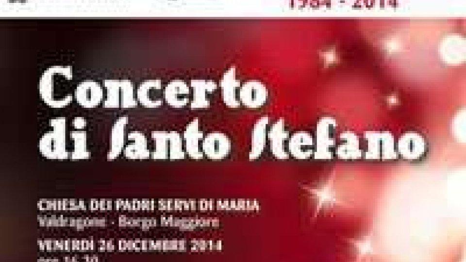 A Valdragone la trentesima edizione del Concerto di Santo Stefano