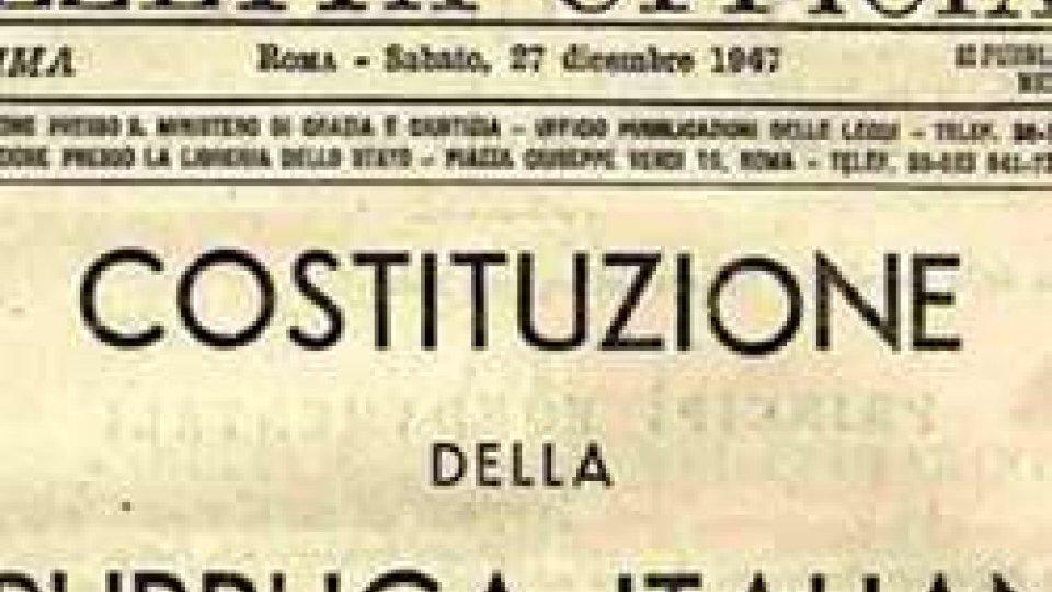 27 dicembre 1947: promulgata la Costituzione Italiana