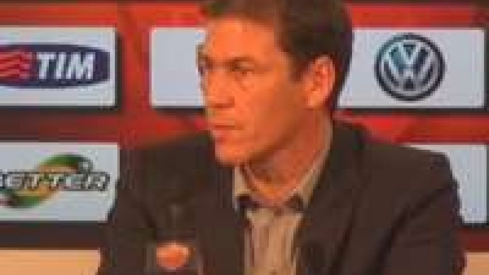 Gli allenatori anticipano la supersfida di domani fra Milan e Roma