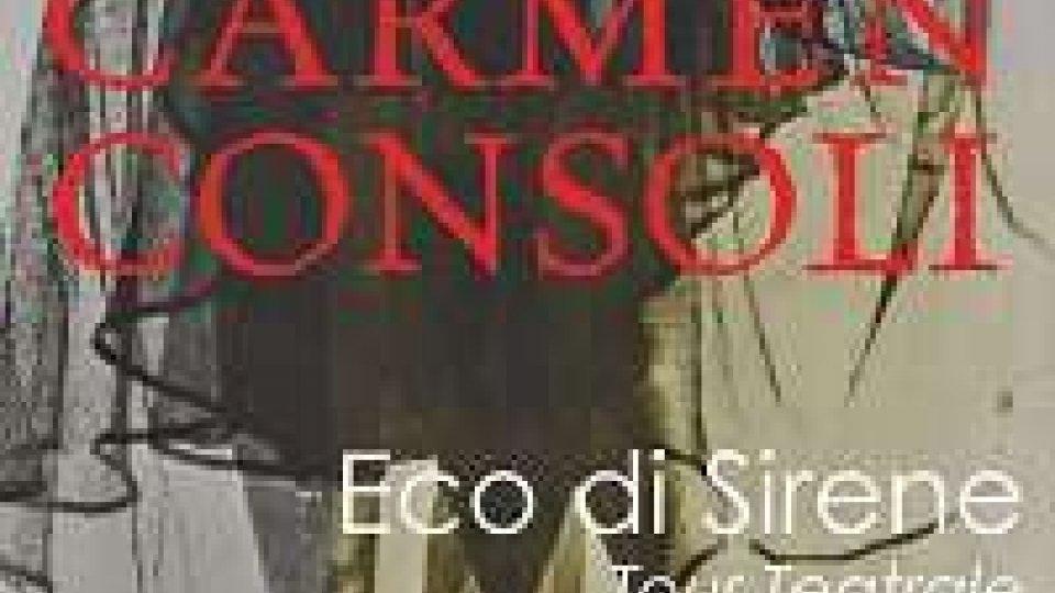 Carmen Consoli a teatro con Eco di sirene