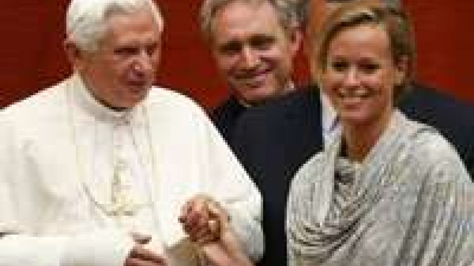 "Il Papa riceve gli olimpionici: ""No a scorciatoia doping""Il Papa riceve gli olimpionici: ""No a scorciatoia doping"""