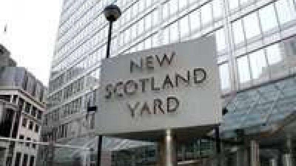 Capodanno: Gb; sciopero a Scotland Yard