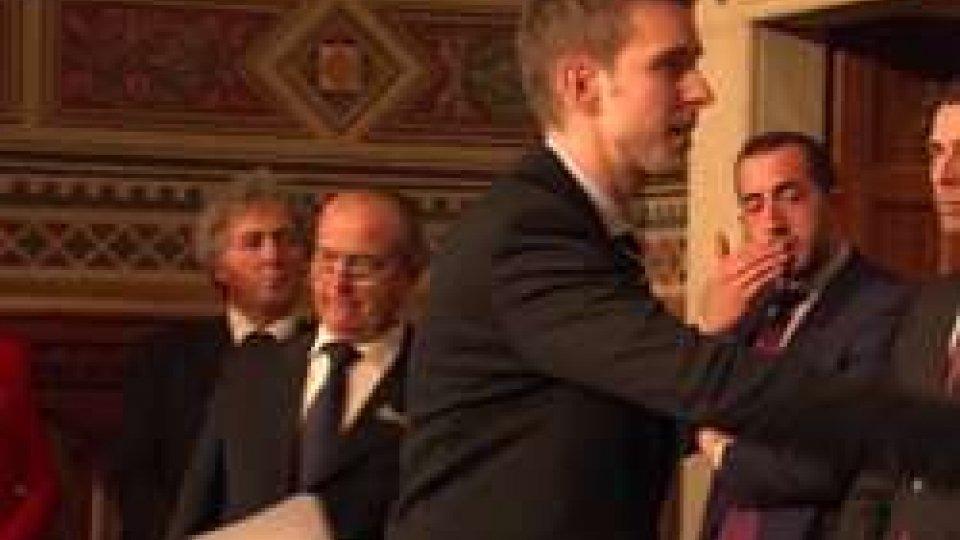 il giuramento di Andrea ZafferaniXXIX legislatura: i propositi del Segretario Andrea Zafferani