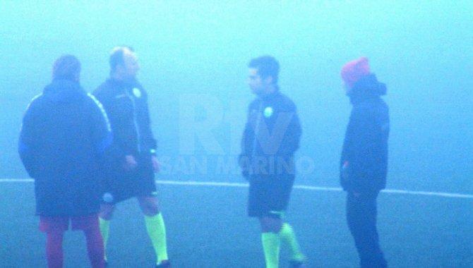 Campionato: la nebbia vince a Fiorentino e Montecchio