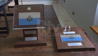 Le rocce lunari donate a San Marino