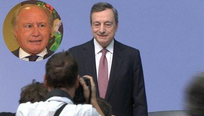 """""""Bazooka"""" di Draghi: secondo l'economista Stefano Cordero di Montezemolo """"favorisce la speculazione"""""""