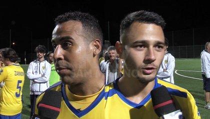 """Tre Fiori - Tre Penne, Apezteguia e Gjurchinoski in coro: """"Contenti per gol e trofeo"""""""