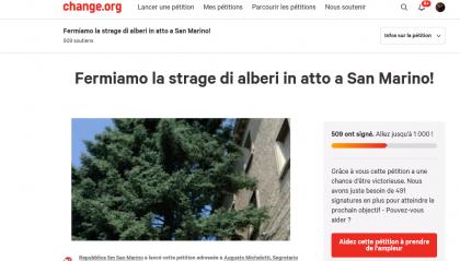 Porta del Paese: si chiude oggi, con 509 firme, la petizione per evitare l'ennesimo abbattimento di alberi in via Paolo III/Capuccini.