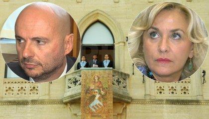 Eletti i Capitani Reggenti: sono Luca Boschi per Civico10 e Mariella Mularoni per la DC