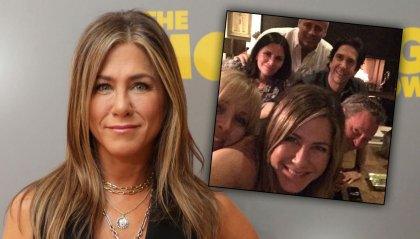 Jennifer Aniston & Friends sbancano Instagram