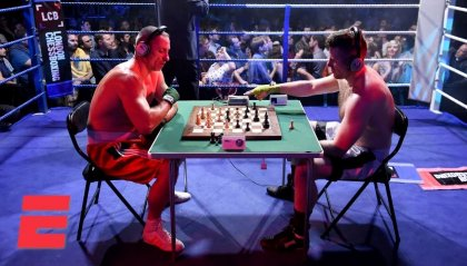 Scacchi + boxe = Chessboxing