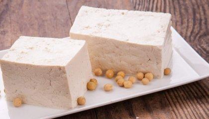 Polpettone di tofu al basilico con patate e sugo di capperi