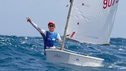 """Vela: Marco Gradoni vince il """"World Sailor of the year"""" a soli 15 anni"""