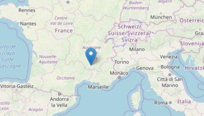 Terremoto: forte scossa nel sud della Francia