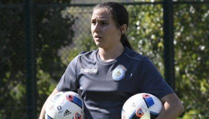 Femminile: Giulia Zaghini in prova con la Juventus