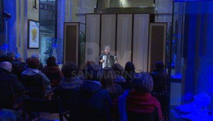 Rassegna Musicale d'Autunno: alla Galleria Cassa di Risparmio l'esibizione di Sergio Scappini, virtuoso della fisarmonica