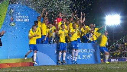 Mondiali U17: Brasile campione del mondo, 2-1 al Messico
